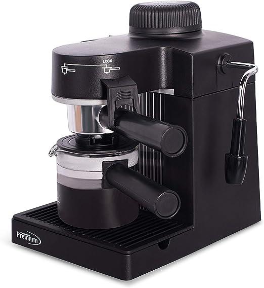 Amazon.com: Máquina de café y capuchino Premium PEM350 ...