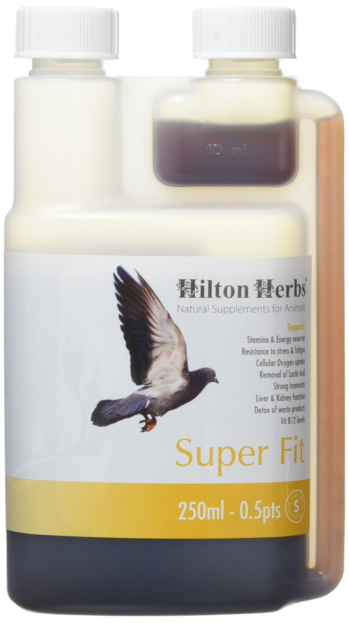 Hilton Herbs 27002 Super Fit-Natural Energy For Racing Pigeons Bottle, 0.5 Pint by Hilton Herbs