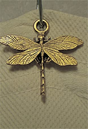 12 Dragonfly Shower Curtain Hook
