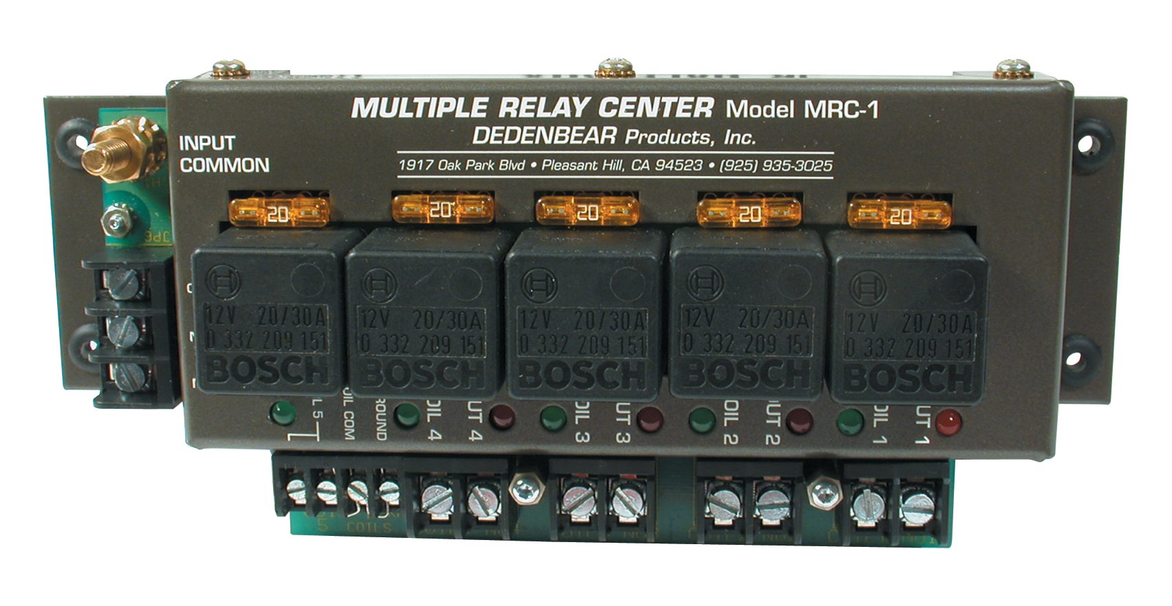 Dedenbear Products MRC1 Multiple Relay Center by Dedenbear Products