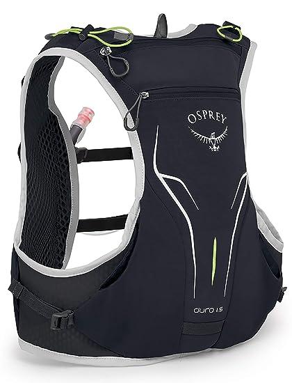 9fd3f46963 Osprey Packs Duro 1.5L Running Hydration Vest, Alpine Black, Small/Medium