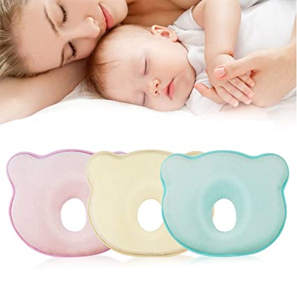 Almohada para bebé - mejor para recién nacido, cojín ortopédico para ...