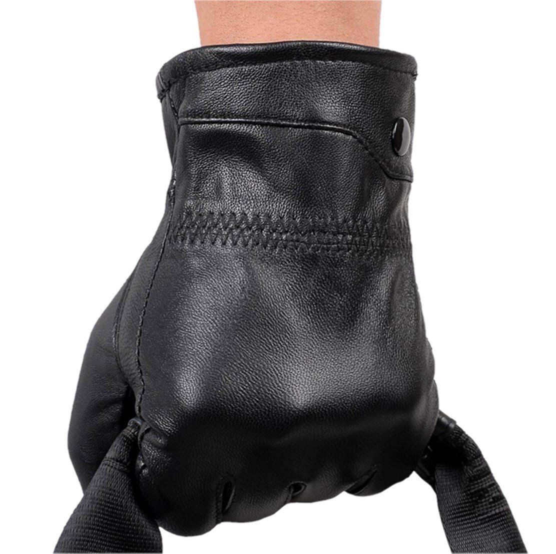 West Leathers Men's Lambskin Leather Gloves Driving Drive/work/motorcycle