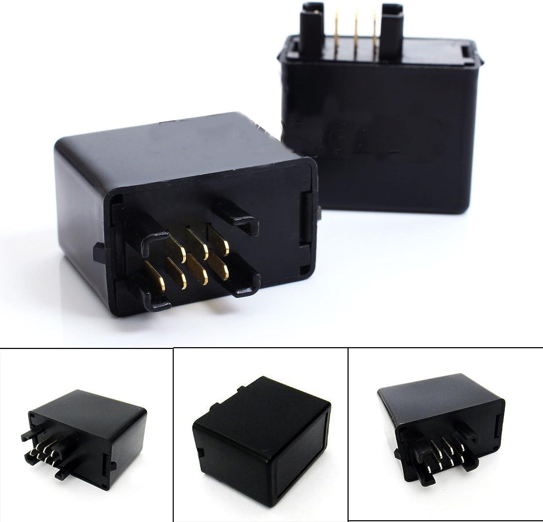 BSLighting 7 Pin LED Indicator Flasher Relay Suzuki GSXR 600 750 1000 GSF 650 1200 Bandit