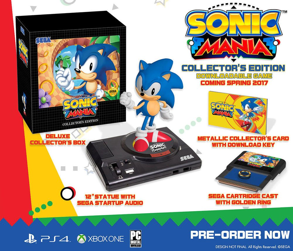 [2017-08-15] Sonic mania - Edition collector PS4 - XOne - Switch 71NJCEIjJsL._SL1000_