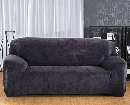Velour Sofa yutianpro velour sofa slipcover stretch protector