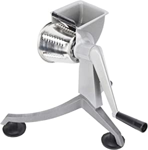 Vegetable Cutter, Multi‑Functional Hand Crank Vegetable Cutter Grater Food Processors with 5 Stainless Steel Blade for Kitchen