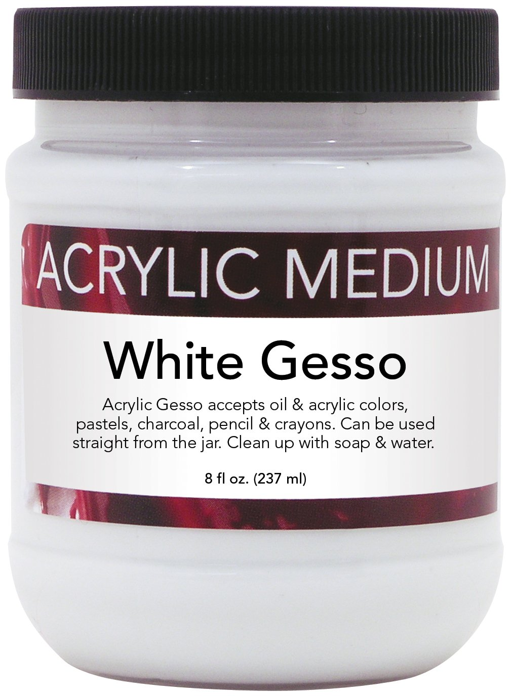 Art Advantage 8-Ounce Acrylic Gesso