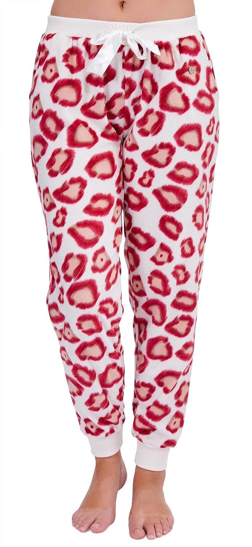 Womens Luxury Leopard Nightwear Range Pyjama Set Pjs Pj's Robes Dressing Gowns Ladies Xmas Gift Present Size UK 8-18