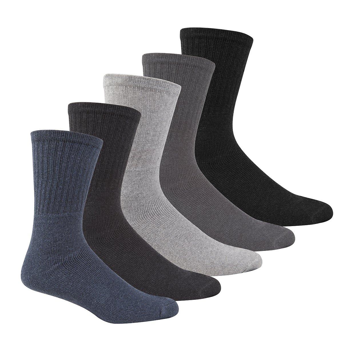 3 Pairs Men/'s Sports Socks Premium Quality Active Gym Socks Cotton Rich UK 6-11