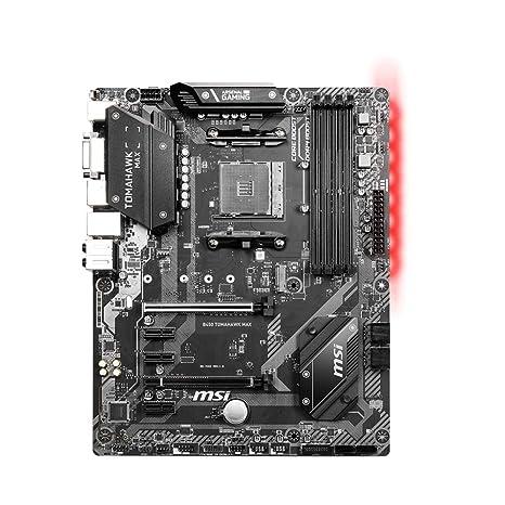 MSI B450 Tomahawk MAX (Socket AM4/B450/DDR4/S-ATA 600/ATX): Amazon ...