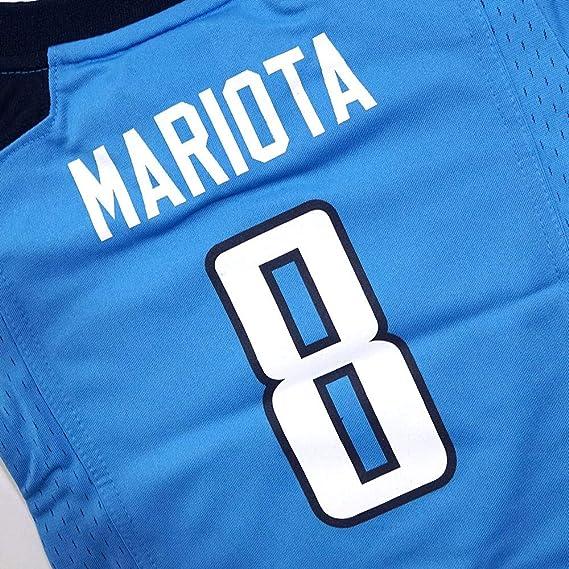 17f939b94 Amazon.com: NIKE Toddler 3T Marcus Mariota Tennessee Titans Jersey - Light  Blue: Clothing