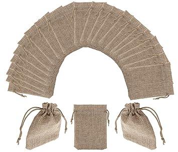 Amazon.com: Bolsas de regalo con cordón – bolsa de regalo de ...