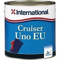 International Cruiser UNO EU Antivegetativa per barche a vela e a motore, colore: Bianco Perla, size: 2,5 lt