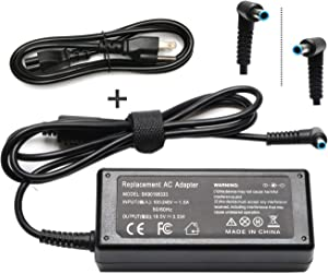 741727-001 65W Ac Adapter Laptop Charger for HP ProBook 450 430 440 446 455 470 640 HP EliteBook 840 G3 G4 G5 850 G3 820 725 745 755 HP Chromebook 14 11 G3 G4 X360 Series Power Supply Cord