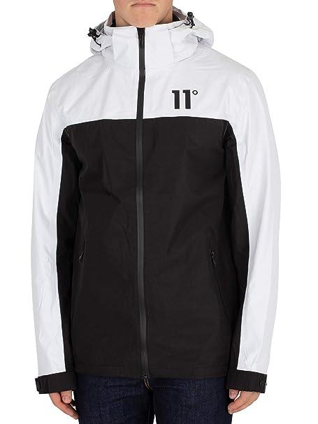 11 Degrees Mens Aqua Jacket, Black, Small at Amazon Mens ...