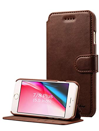 Amazon.com: Funda billetera Pasonomi para iPhone 7 Plus, de ...