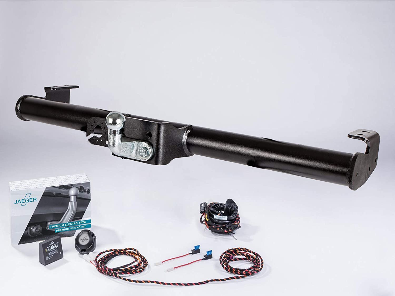 Set completo per rimorchio Brink a 2 fori adatto per Ranger set elettrico Jaeger Automotive Weltmann 7D500121 AHK 13 poli
