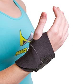 Amazon.com: Yoga Wrist Support Brace para hacer ejercicio ...