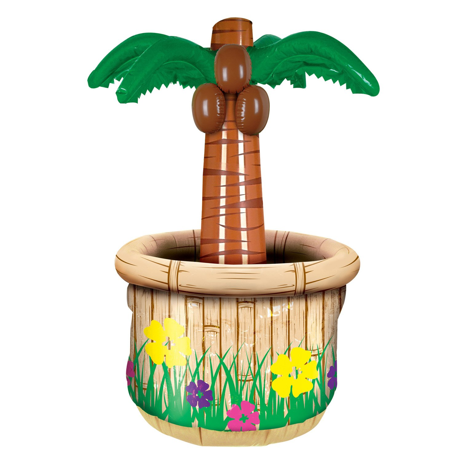 Beistle 50082 Inflatable Palm Tree Cooler, 18 by 28-Inch The Beistle Company