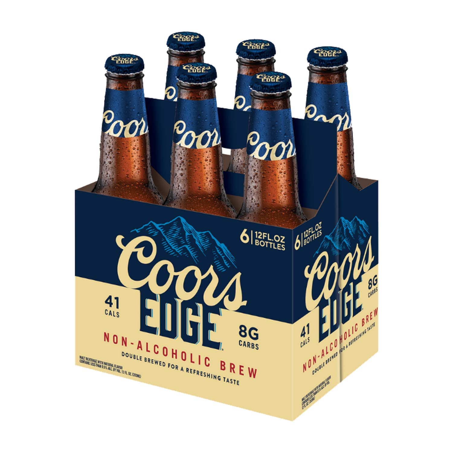 Amazon.com : Coors Non-alcoholic Beer (6 Bottles) : Grocery ...