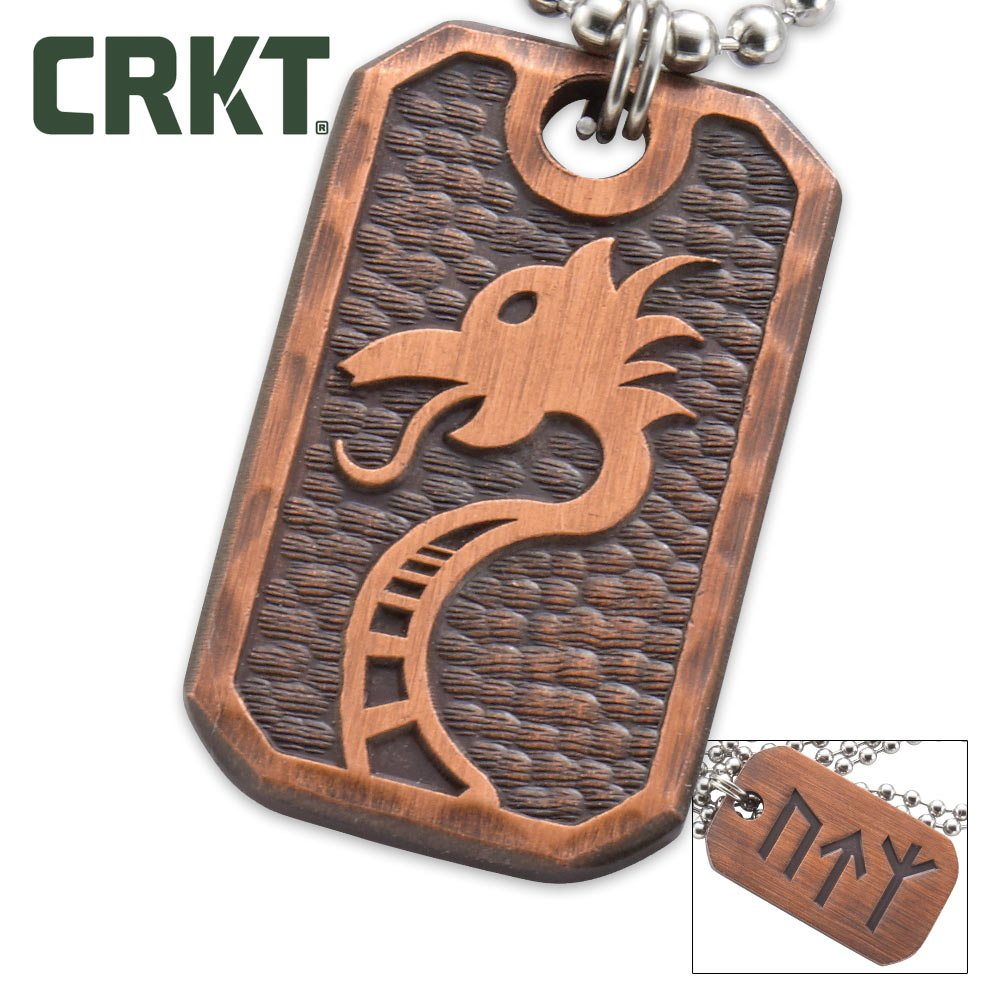 CRKT 9001447 Valhalla Pendant With Bead Chain