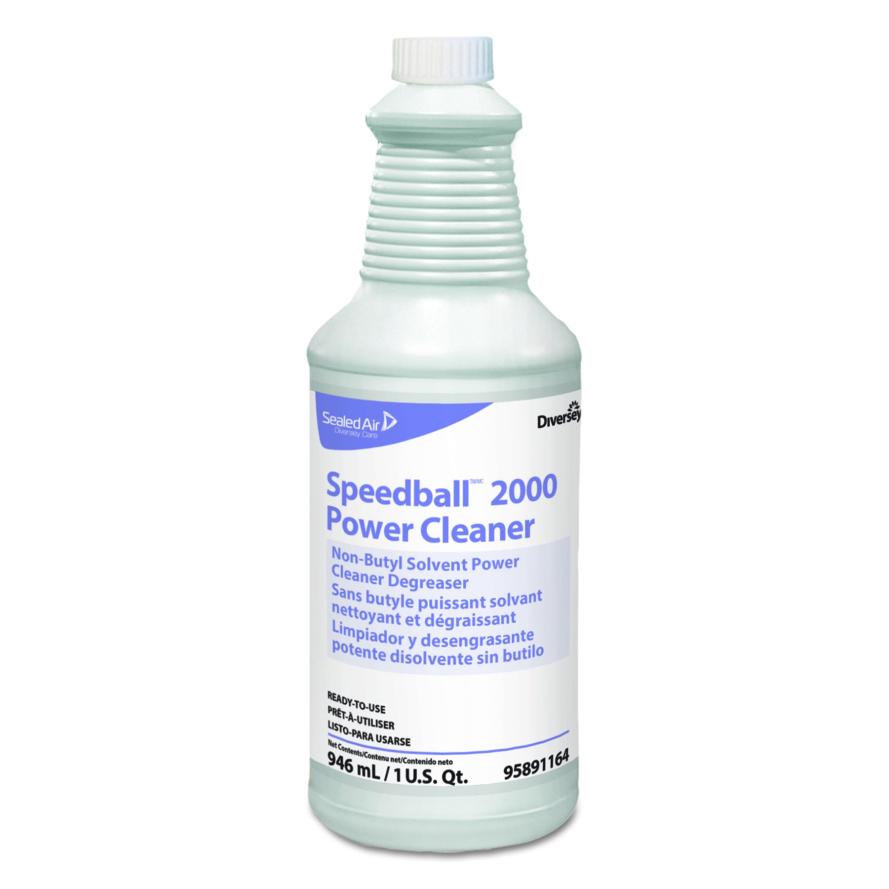 Diversey 95891164 Speedball 2000 Heavy-Duty Cleaner, Citrus, Liquid, 1qt. Spray Bottle (Case of 12)