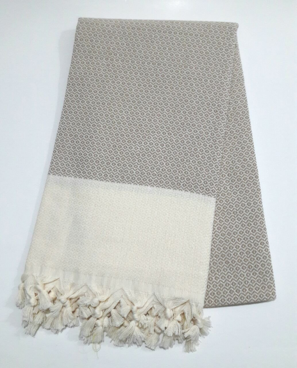 "Paramus 100% Turkish Cotton Turkish Peshtemal Hamam Towel Wrap Pareo Fouta (37x 70) (Sand, 1) - 100% COTTON Made in Turkey 95x175 cm (""37x70"" inches) - bathroom-linens, bathroom, bath-towels - 71NJNg7GMiL -"