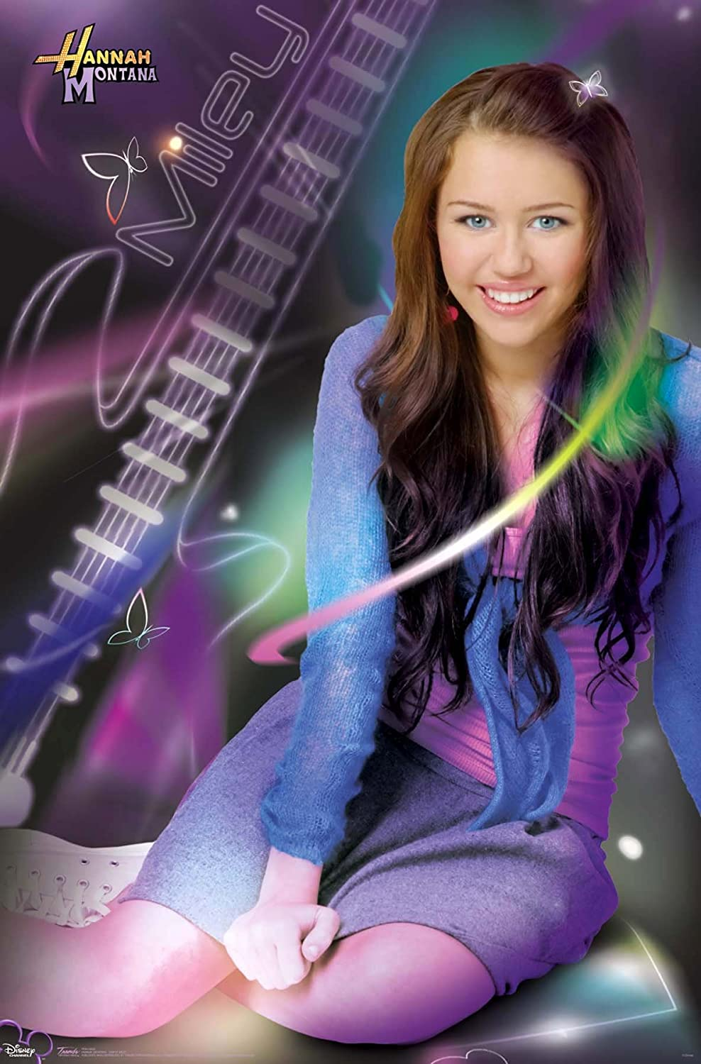 Amazon Com 24x36 Hannah Montana Simply Miley Tv Poster Print Posters Prints