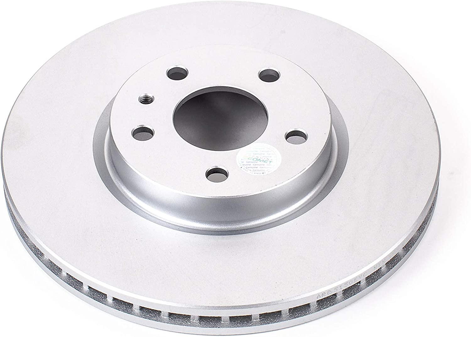 Power Stop JBR1165EVC Evolution Coated Rotors Front Evolution Coated Rotors