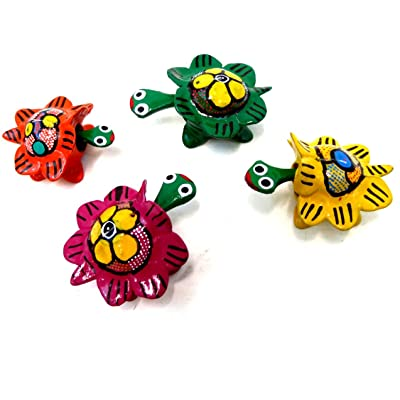 Bobble Head Turtles Mexican Toy (set of 4): Toys & Games