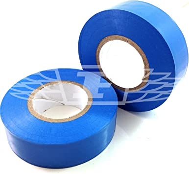 Blue Electrical PVC Insulation Tape 19mm x 20m BS EN 60454 Electrical Work