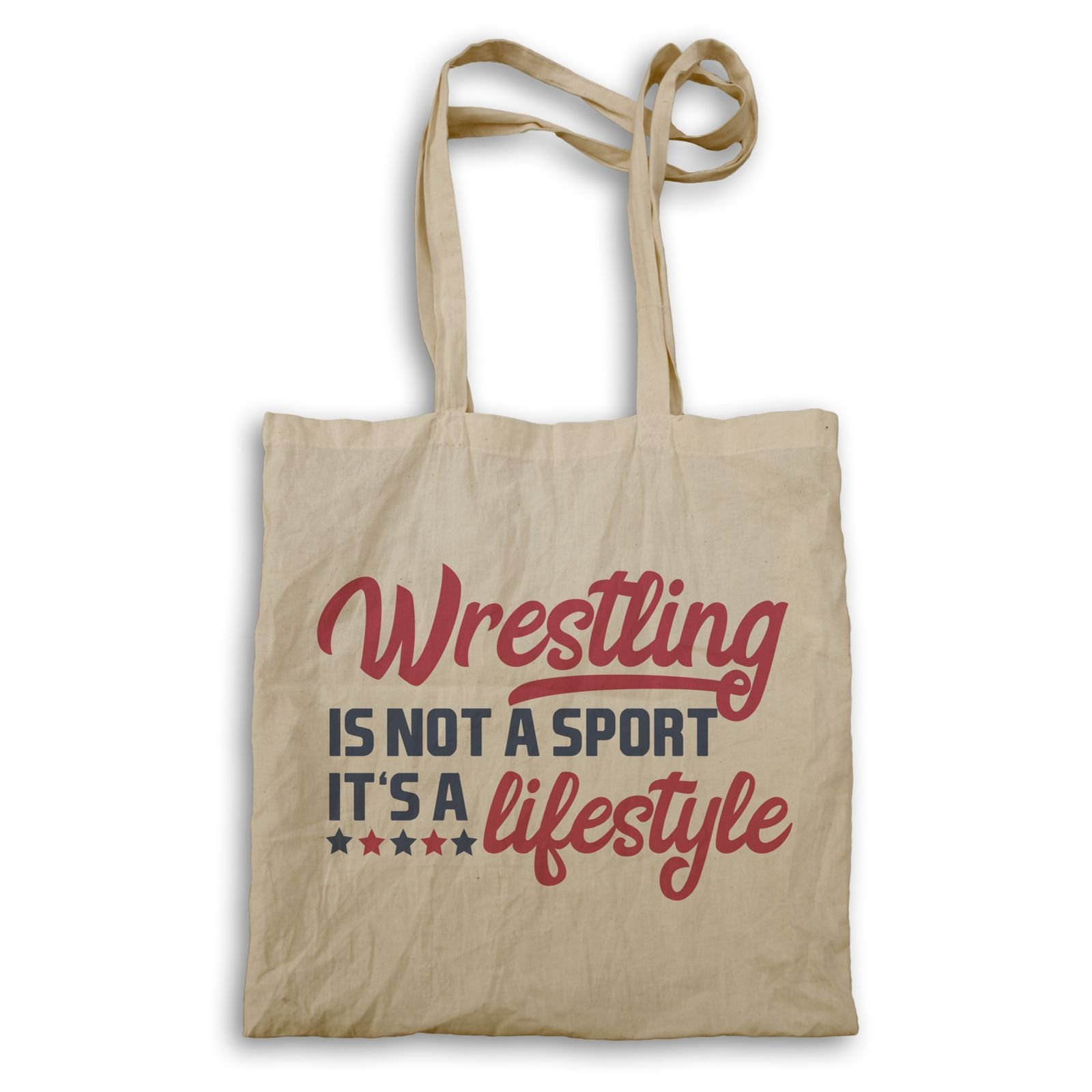 Wrestling Is Not A Sport It'S A Lifestyle Tote bag s573r