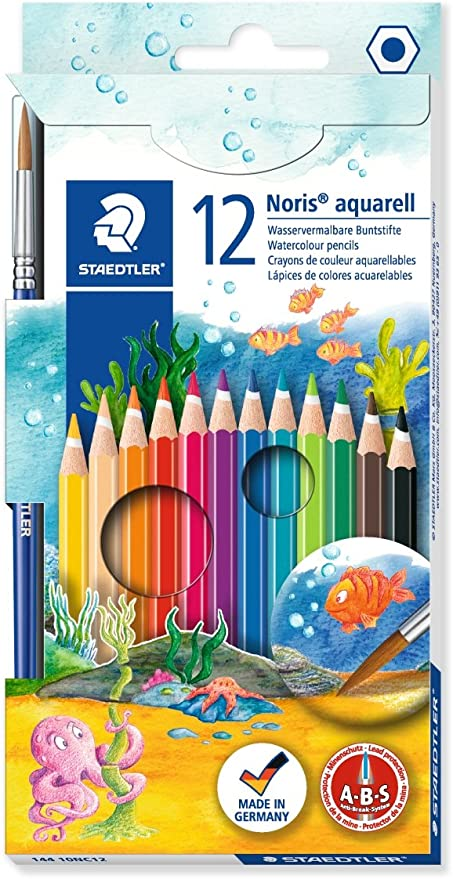 Sg Educación 14410NC12 Staedtler acuarela lápices de colores (Pack ...