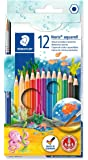 Sg Educación 14410NC12 Staedtler acuarela lápices de colores (Pack de 12)