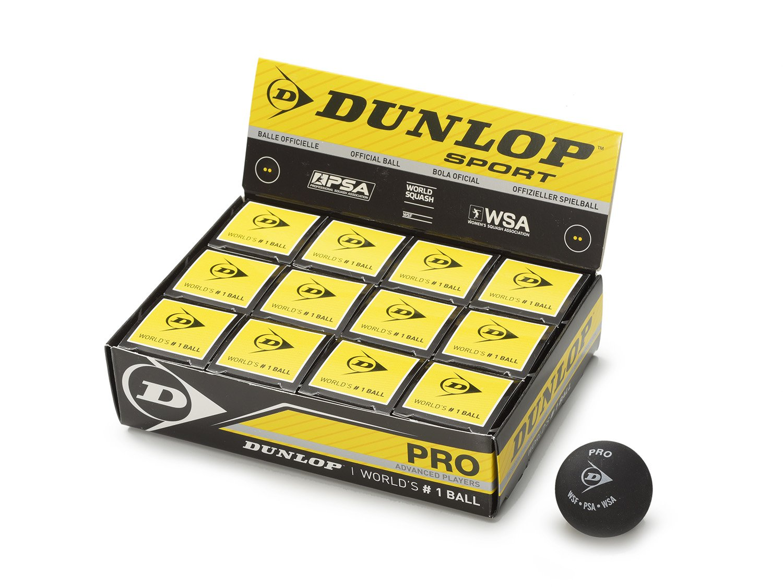 Dunlop Pro Boîte de 12 balles SQBAP b2s2016
