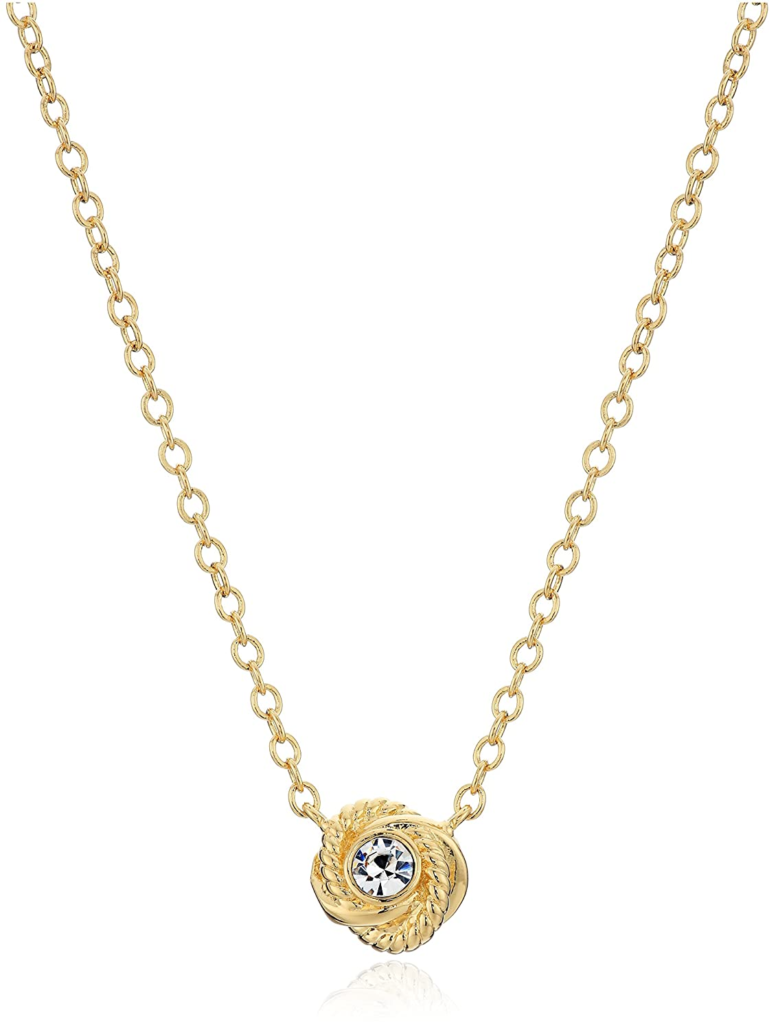 kate spade new york Infinity and Beyond Knot Mini Pendant Necklace kate spade jewelry WBRUC362921
