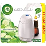 Air Wick Fresh Cucumber Fragrance Essential Mist with Free Refill 0.67 fl oz, Pack of 1