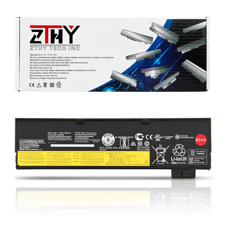 ASKC 11.4V 24Wh 2110mAh 01AV424 Batterie pour Lenovo ThinkPad A475 A485 T470 T570 T480 T580 P51S P52S TP25 Series 61 4X50M08810 01AV422 01AV423 01AV452 SB10K97579 SB10K97580 SB10K97581