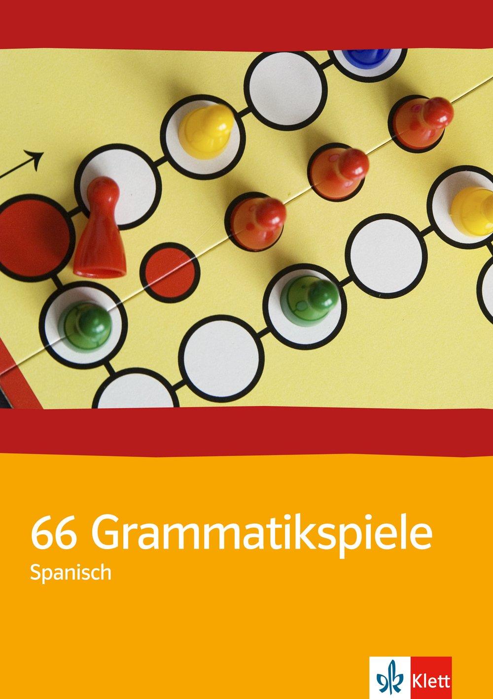 66 Grammatikspiele: Buch m. Kopiervorlagen