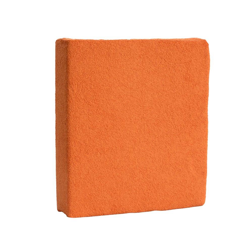 Drap-housse en tissu éponge 120x 60cm pour bébé/enfant Lit Matelas–Orange BabyComfort