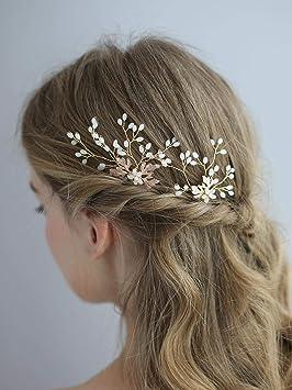2 X Cute Wedding Bridal Flower Hairpin Hair Pin Clips Seaside Beach Accessories