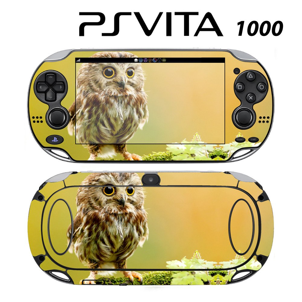 Decorative Video Game Skin Decal Cover Sticker for Sony PlayStation PS Vita (PCH-1000) - Cute Baby Owl