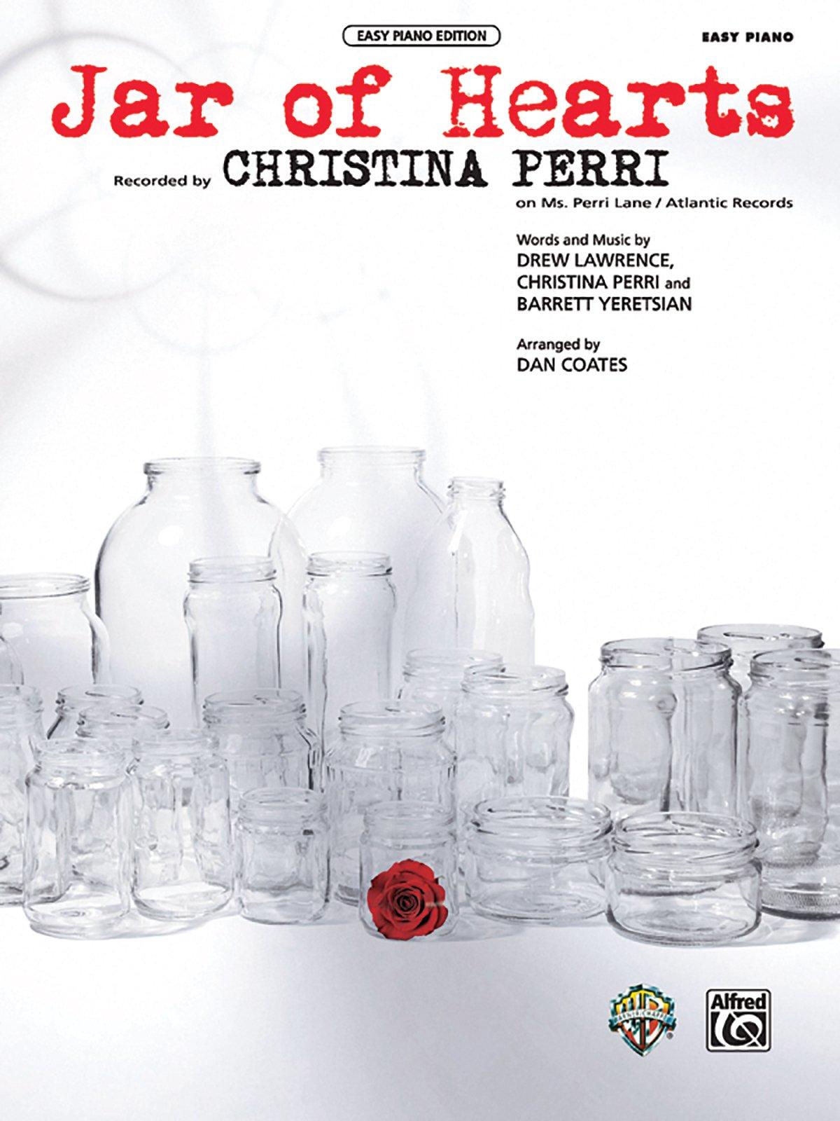 Jar Of Hearts Easy Piano Sheet Drew Lawrence Christina Perri