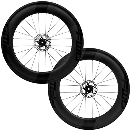 2768fd023b3 Image Unavailable. Image not available for. Color: Fast Forward FFWD Wheels  F9D 90mm Tubeless Disc Brake Carbon Clincher Wheel Set ...