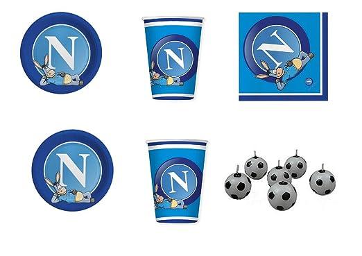 coordinato Sport SSC Napoli Fútbol para cumpleaños eventos ...