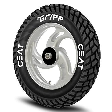 Ceat Gripp 90/90-12 54J Tube-Type Scooter Tyre, Rear(Home Delivery)