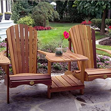 Bear Chair BC900C Cedar Tete A Tete Kit