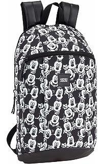 Safta Mini Mochila Mickey Mouse Junior Oficial Uso Diario 220x100x390mm