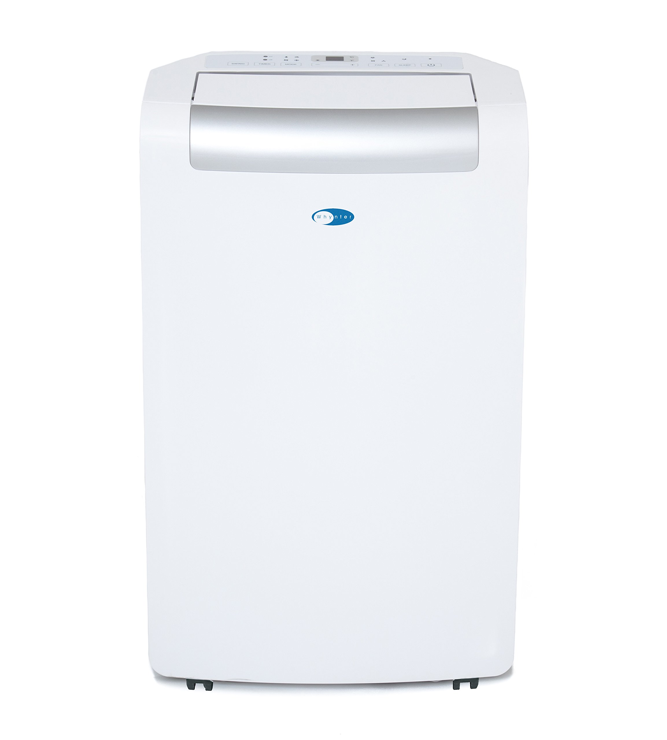 Whynter ARC-148MS 14,000 BTU Portable Air Conditioner, Dehumidifier, Fan with 3M and SilverShield Filter for Rooms up to 450 sq ft by Whynter